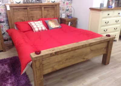 Rough Sawn Bed