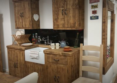 Rough Sawn Kitchen Units