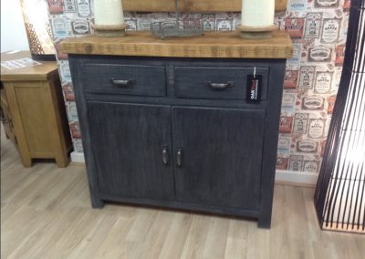 Rough Sawn Painted Drawers