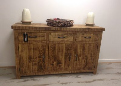 Rough Sawn Sideboard