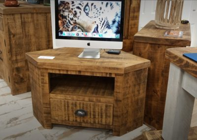 Rough Sawn TV Cabinet